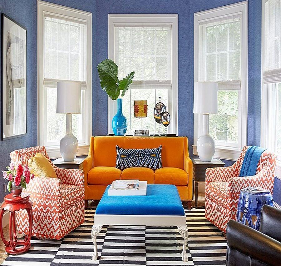 Hình dáng nội thất nên dùng trong phòng khách người mệnh Thủy