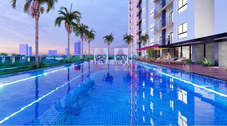 Hồ bơi chưng cư Minh Quốc Plaza