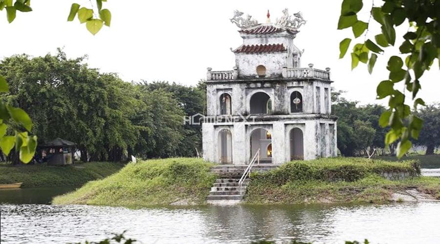 Khung cảnh Hồ Gươm Xanh tại Thuận An Bình Dương