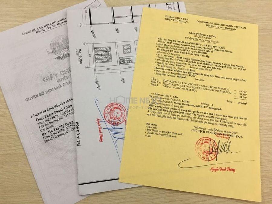 Hồ sơ xin cấp giấy phép xây dựng