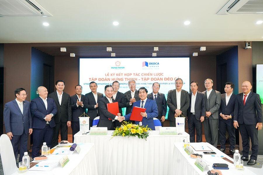 Hình ảnh hoạt động sự kiện ký kết hợp tác của Hưng Thịnh Corporation