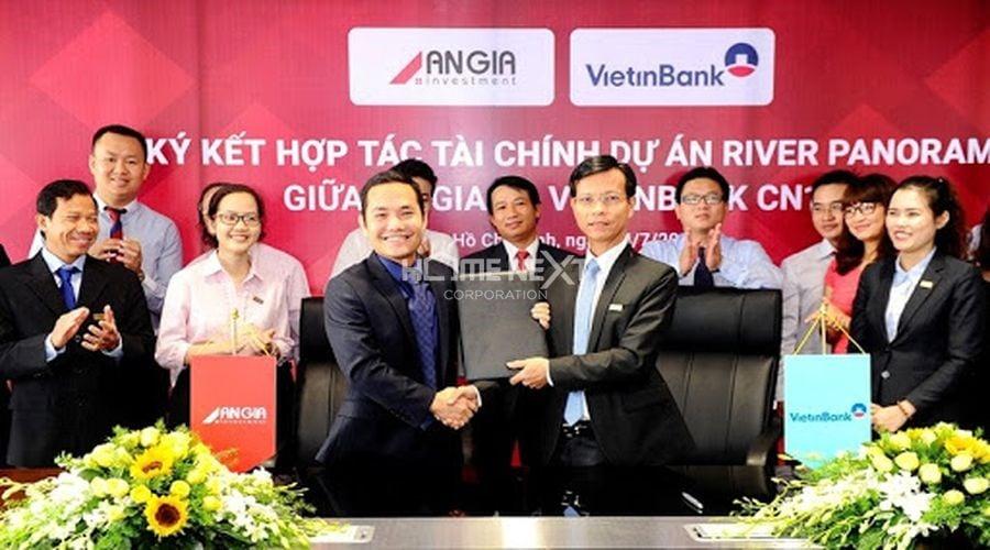 An Gia và Vietinbank ký kết hợp tác tài chính cho dự án bất động sản