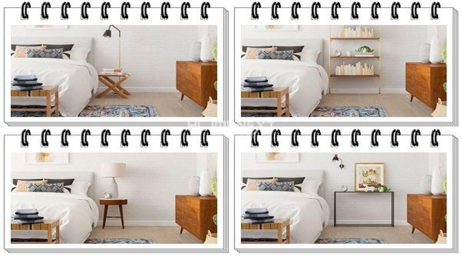 Mỗi mẫu tủ kệ bàn để đầu giường sẽ mang lại các không gian khác nhau