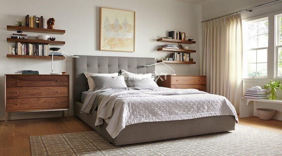 Đây là mẫu kệ được các gia đình lựa chọn nhiều nhất khi mua đồ nội thất phòng ngủ