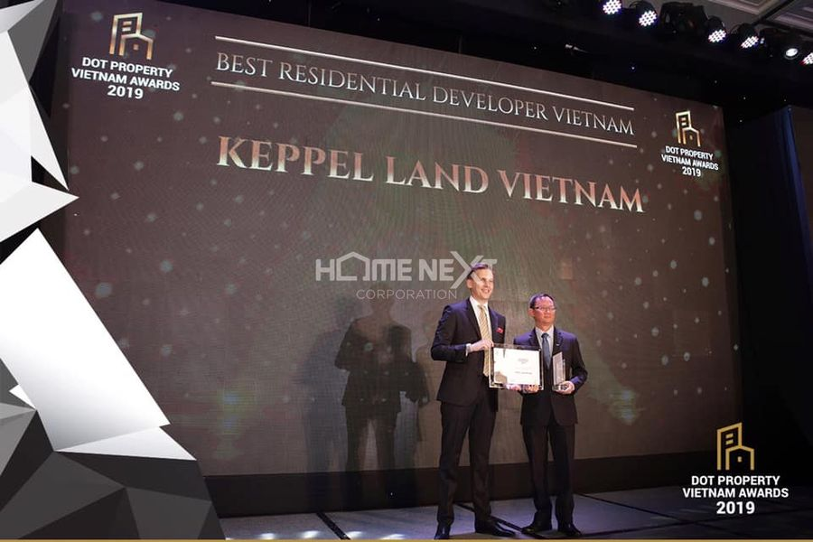 Giải thưởng Nhà Phát triển Dự án Dân cư Tốt nhất Việt Nam 2019 của Keppel Land