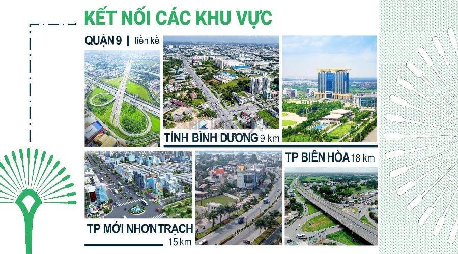 kết nối các khu vực Vinhomes quận 9