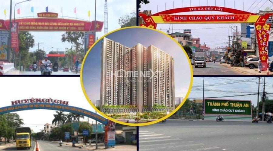 Khả năng liên kết vùng của thành phố Thủ Dầu Một rất lớn