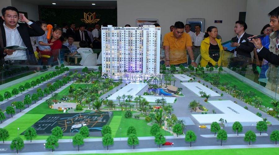 Lễ khai trương nhà mẫu Minh Quốc Plaza vào ngày 25/5/2020