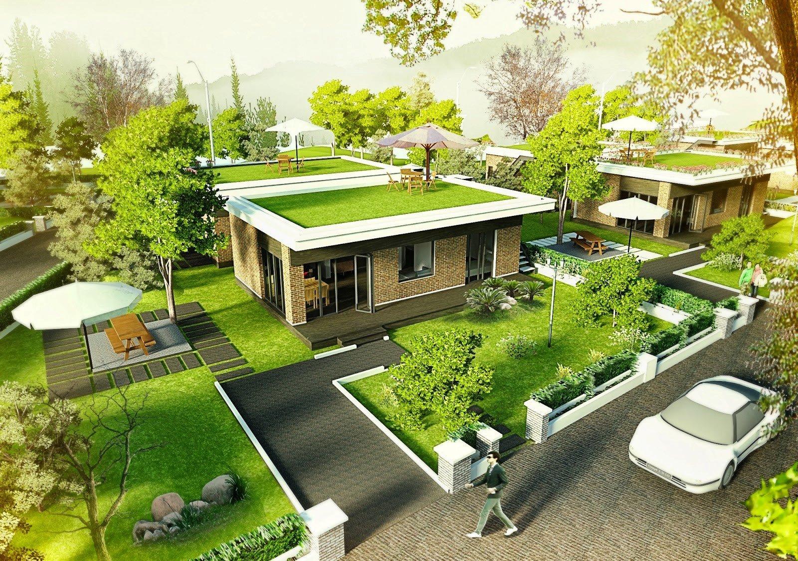 Thiết kế nhà với không gian xanh đang là xu hướng hiện nay
