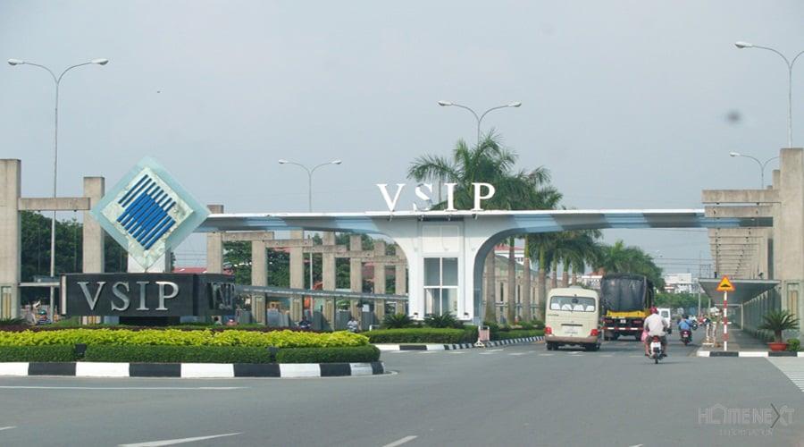 Cổng chào KCN Vsip I