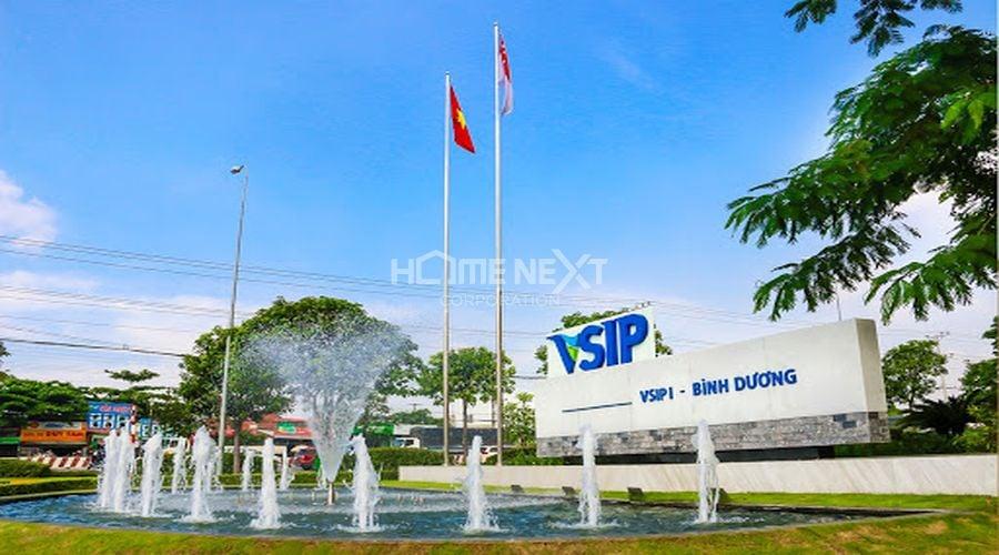 Khu công nghiệp VSIP tại Bình Dương
