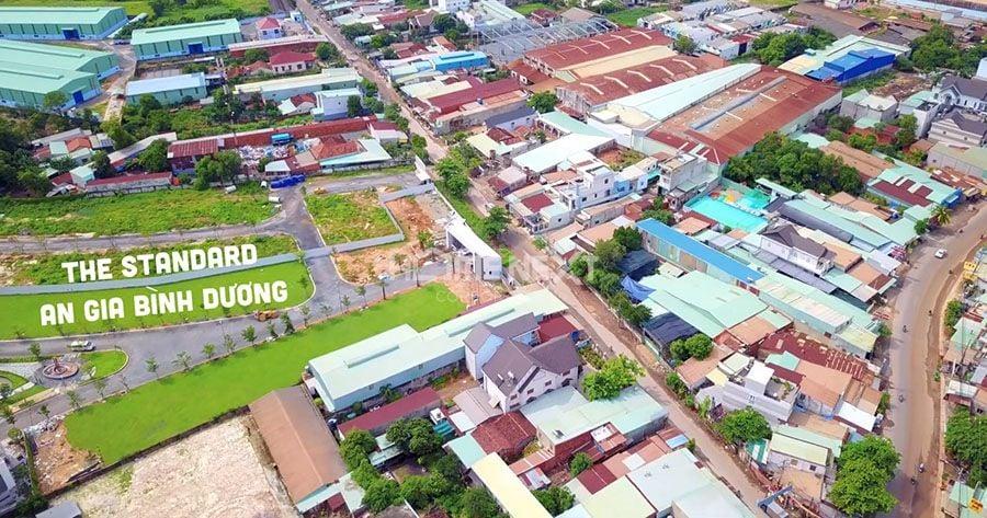 Khu đất dự án nhà ở The Standard An Gia