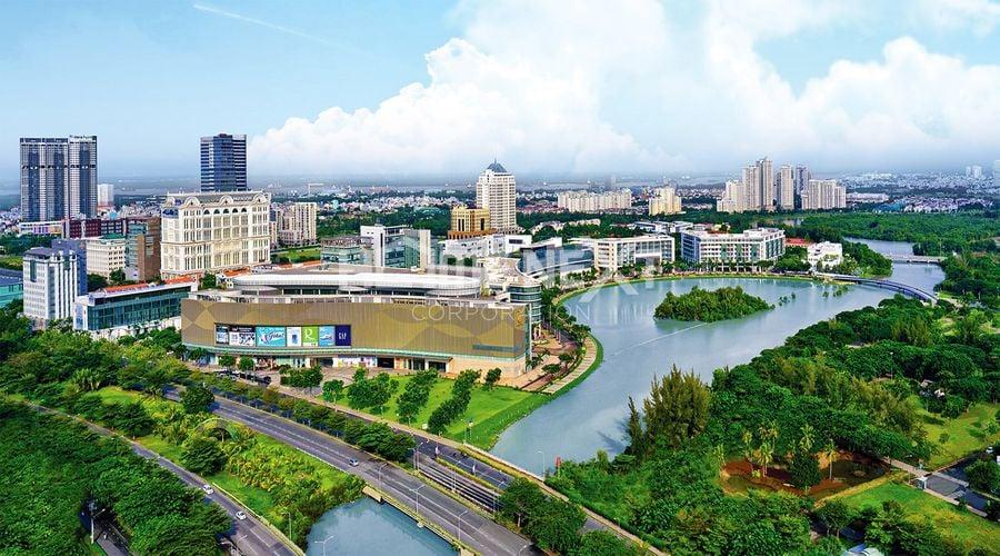 Phú Mỹ Hưng đi theo hướng phát triển các dự án tại khu vực rộng lớn