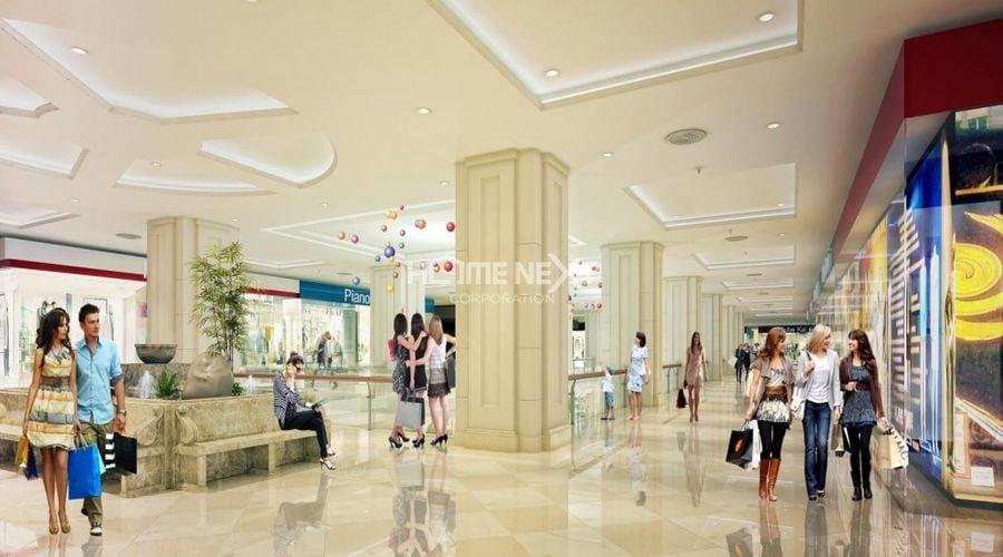 Khu trung tâm mua sắm đẳng cấp hàng đầu khu vực