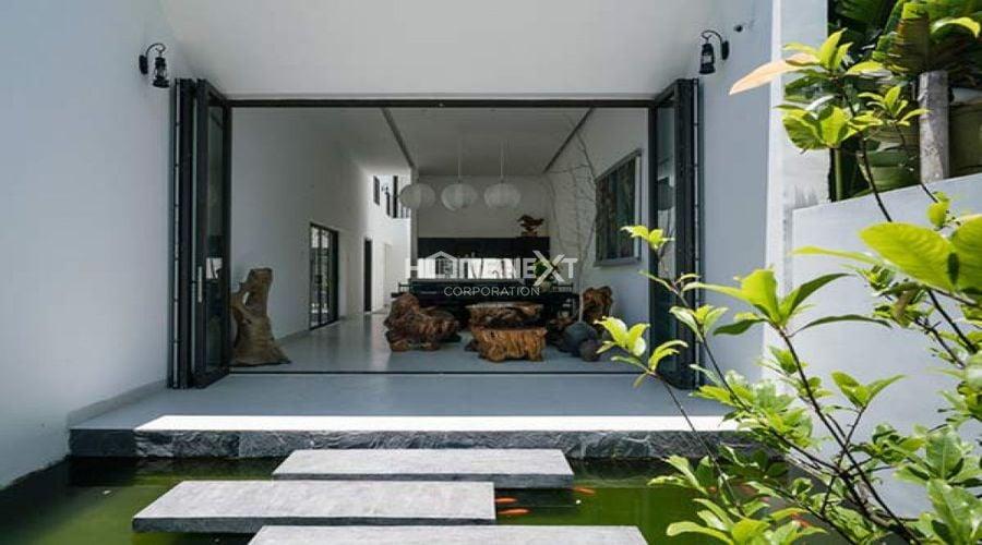 Kiến trúc xanh điều hòa không khí, xua tan cảm giác ngột ngạt của không gian hẹp