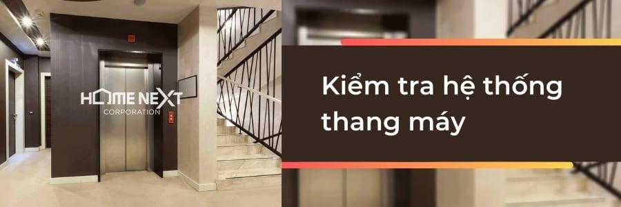 kiểm tra hệ thống thang máy