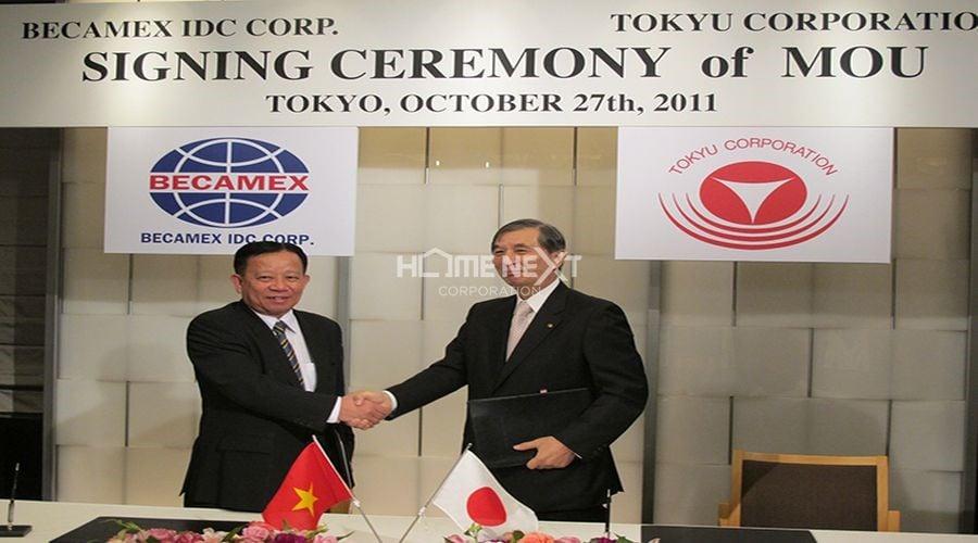 Ký kết thỏa thuận hợp tác giữa Tokyu Corporation và Becamex IDC Corp