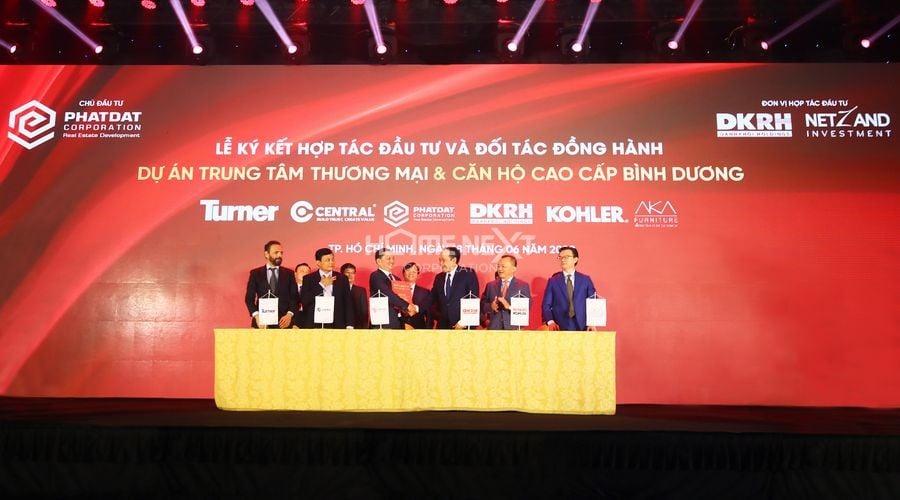 Lễ ký kết hợp tác đầu tư và đối tác đồng hành của Phát Đạt