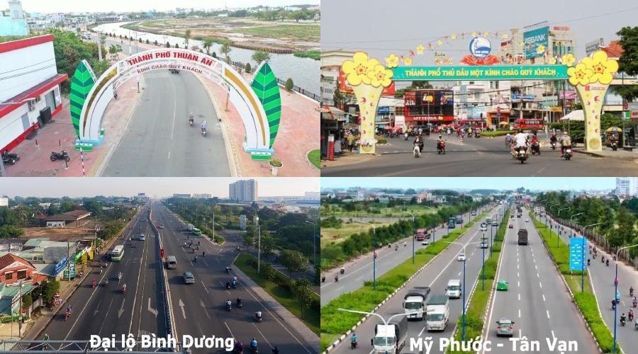 An Phú – Thuận An kết nối các tuyến đường huyết mạch