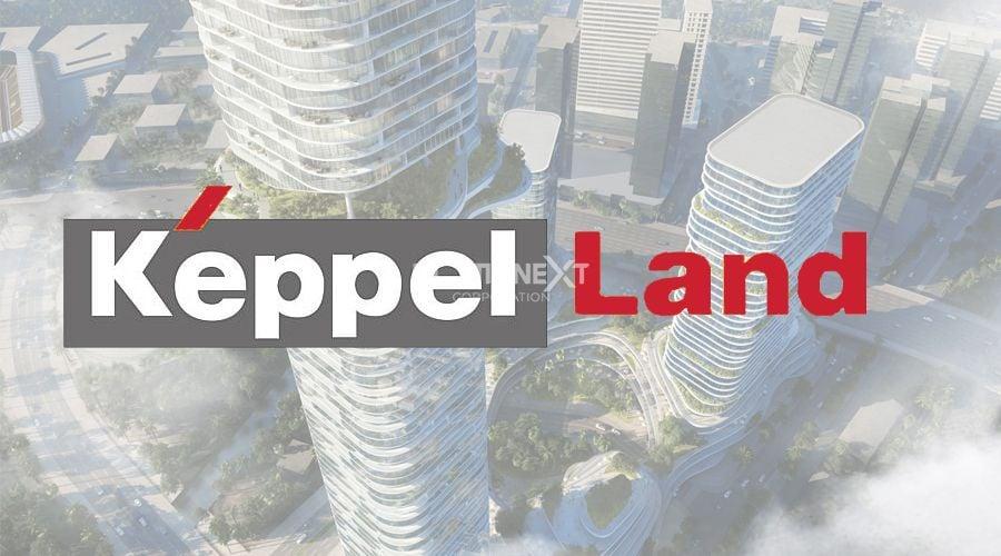 Logo thương hiệu của công ty bất động sản Keppel Land