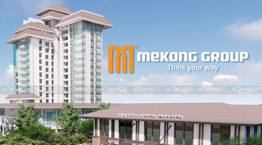 Logo mới nhất của tập đoàn Nam Mê Kông