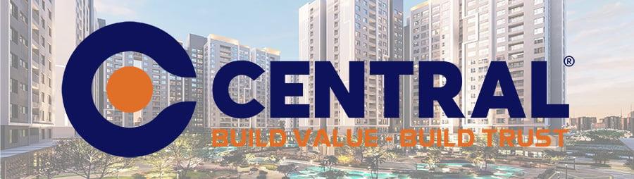 Logo công ty cổ phần xây dựng Central