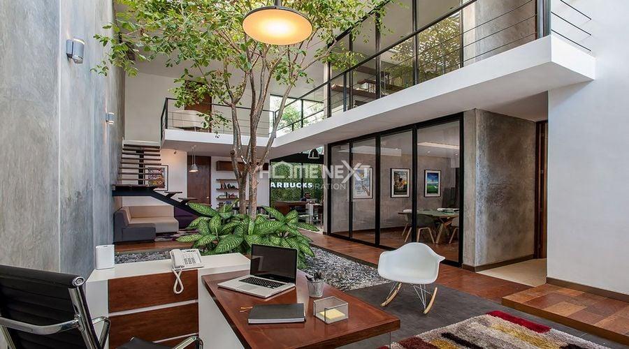 Lựa chọn vật liệu trong thiết kế nội thất nhà