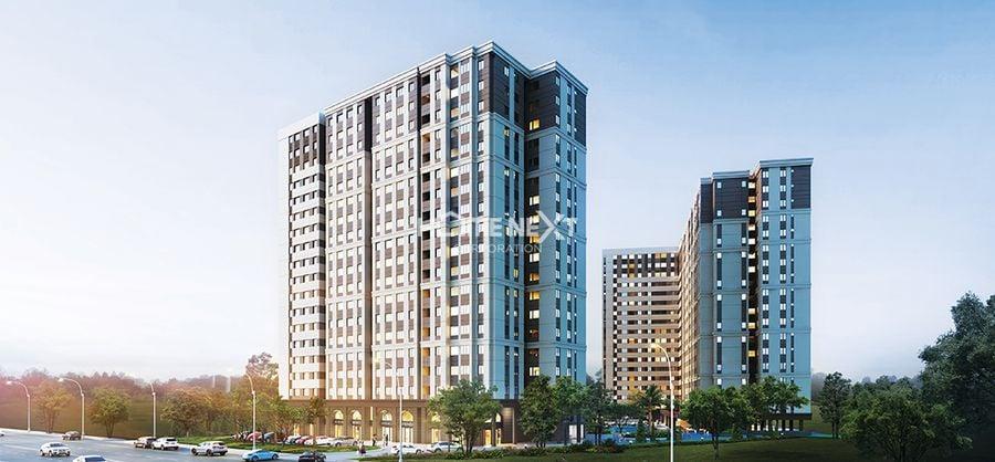 Phối cảnh dự án chung cư Luxury Residence Bình Dương