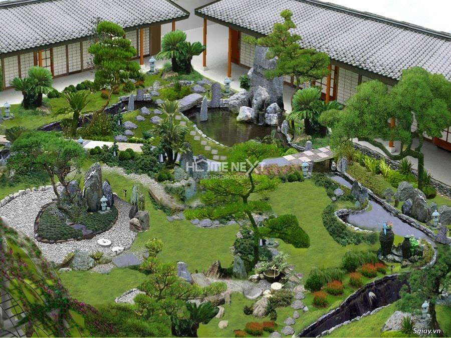 Thiết kế sân vườn và những điều cần lưu ý