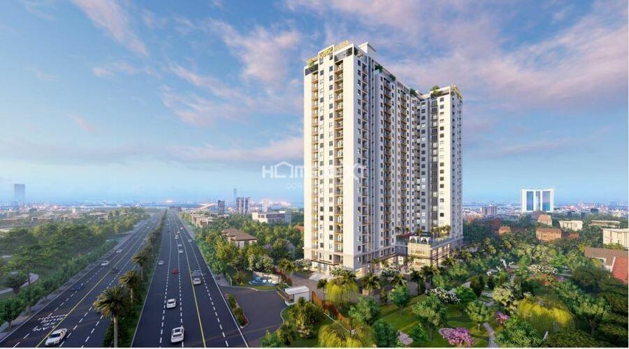 cảnh dự án căn hộ Minh Quốc Plaza