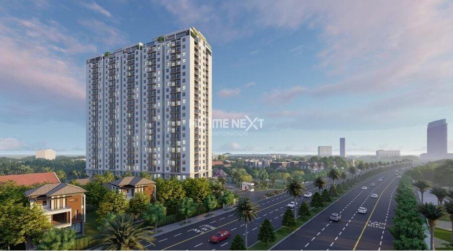 Hình dự án Minh Quốc Plaza Phú Mỹ