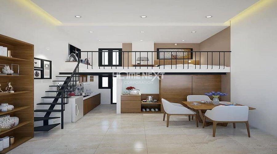 Sắp xếp nội thất hợp lý sẽ là biện pháp để căn nhà rộng rãi hơn