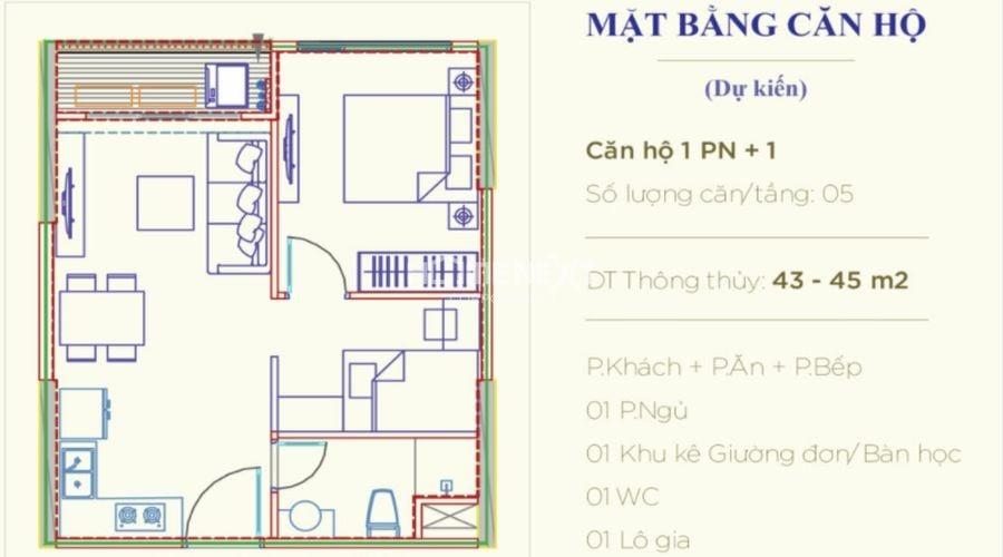 Tìm hiểu bố cục căn hộ thông qua bản vẽ