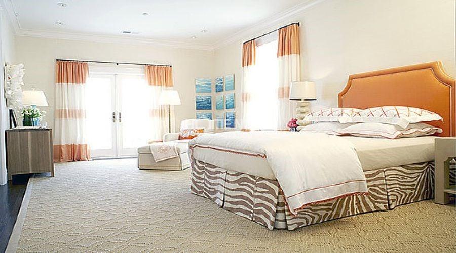Sự hài hòa của nội thất phòng ngủ đến từ tương đồng của màu sắc nội thất