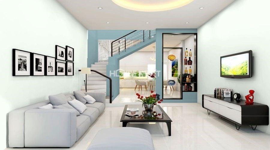 Sơn bóng được sử dụng phổ biến trong sơn tường cho chung cư