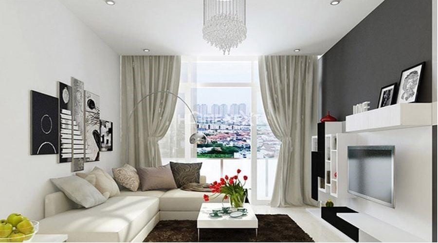 Tỷ lệ vàng trong thiết kế nội thất phòng khách