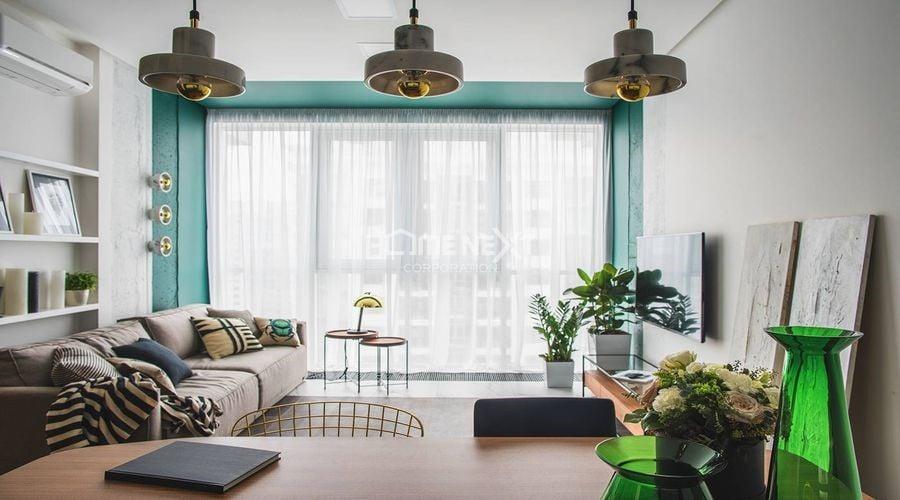 Sự phối hợp hiệu quả giữa ánh sáng và màu sắc trong trang trí căn hộ