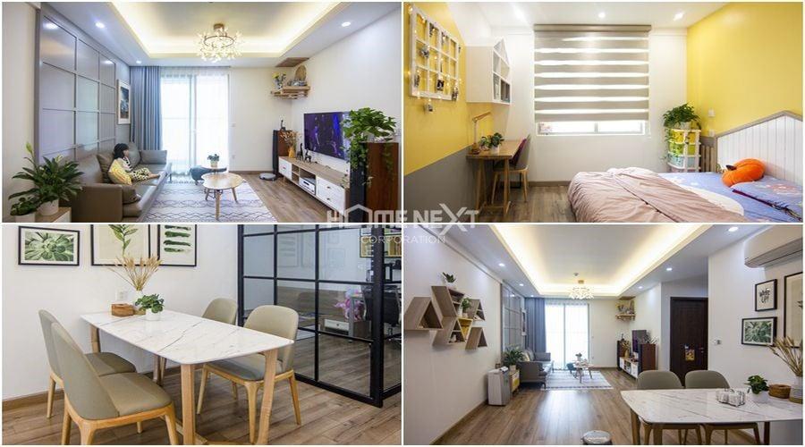 Lựa chọn màu sắc và ánh sáng phù hợp với từng không gian căn hộ