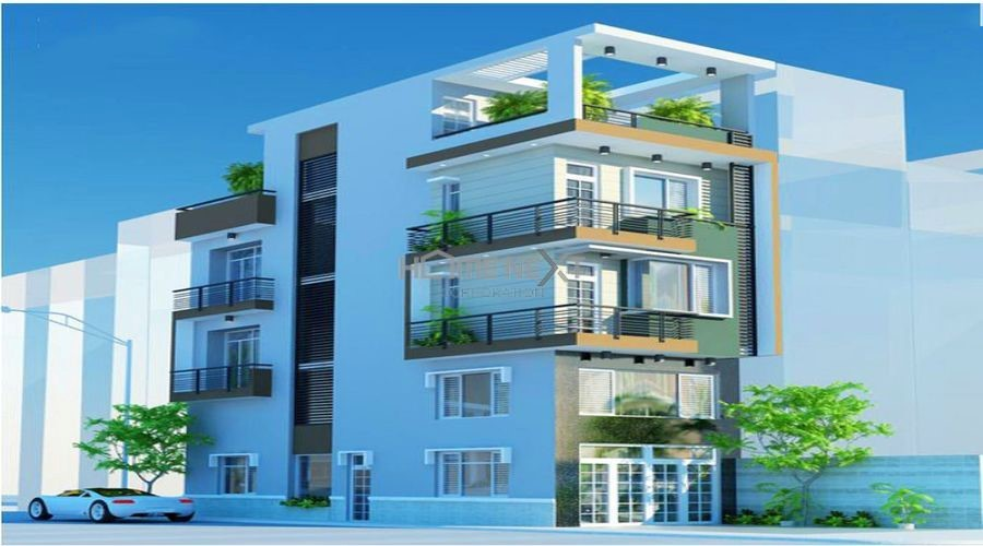 Mô hình nhà phố kết hợp với căn hộ cho thuê