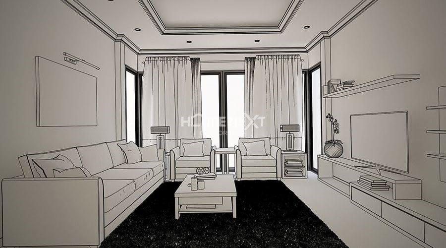 Lên ý tưởng thiết kế nội thất chung cư
