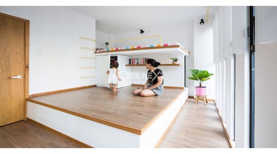 Không gian nhỏ nhưng được thiết kế rất đặc biệt