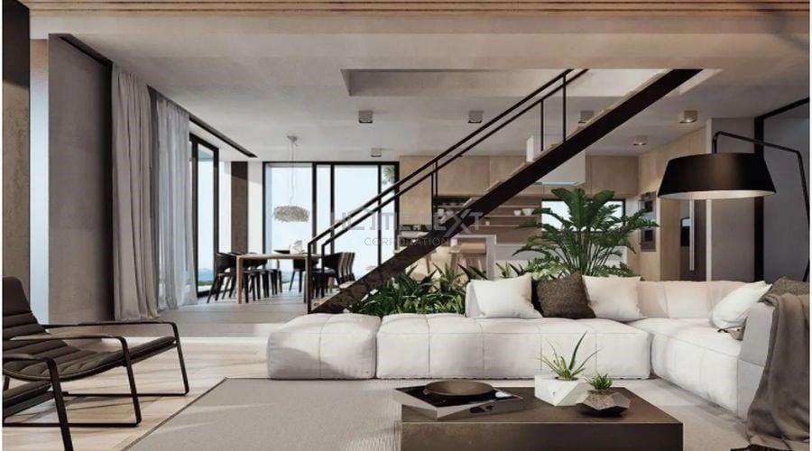 Vật liệu hiện đại ứng dụng ở cầu thang ngôi nhà