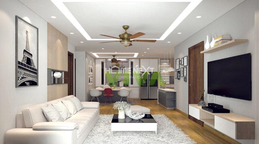 Đèn Led âm trần cho căn hộ nhỏ