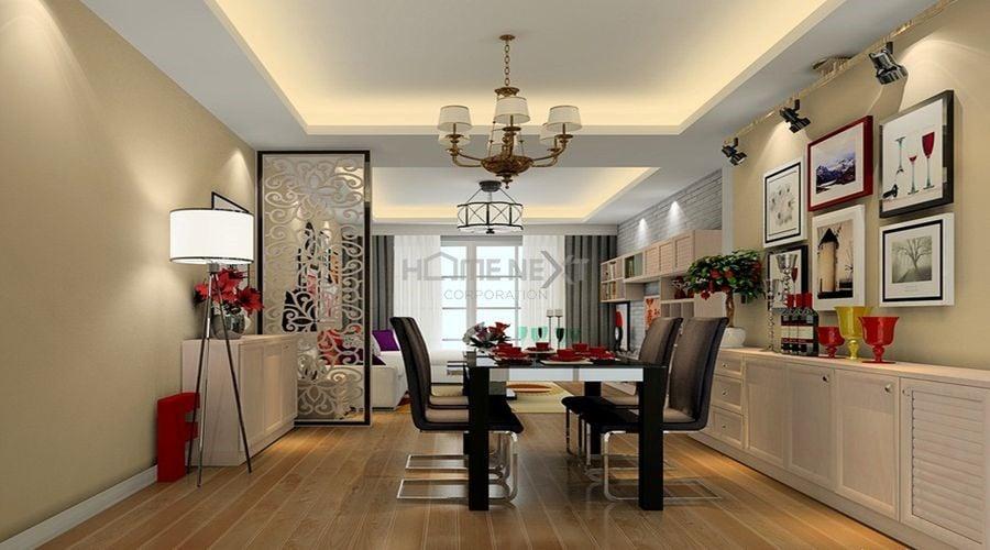 Sử dụng ánh sáng cho từng khu vực nhằm tạo điểm nhấn cho căn hộ