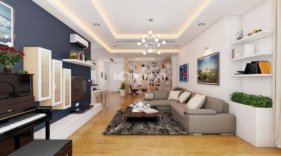 Căn hộ chung cư có nội thất sang trọng