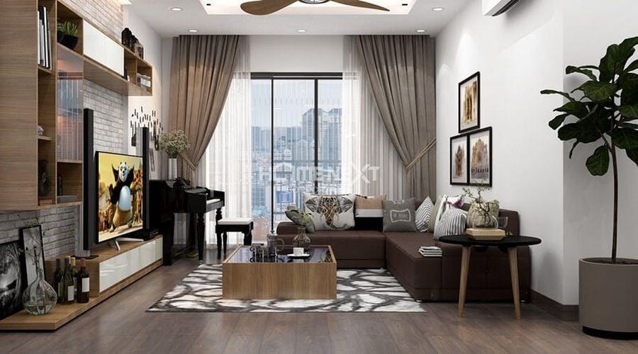 Hiện đại luôn là phong cách chủ đạo với nội thất các căn hộ chung cư hiện nay