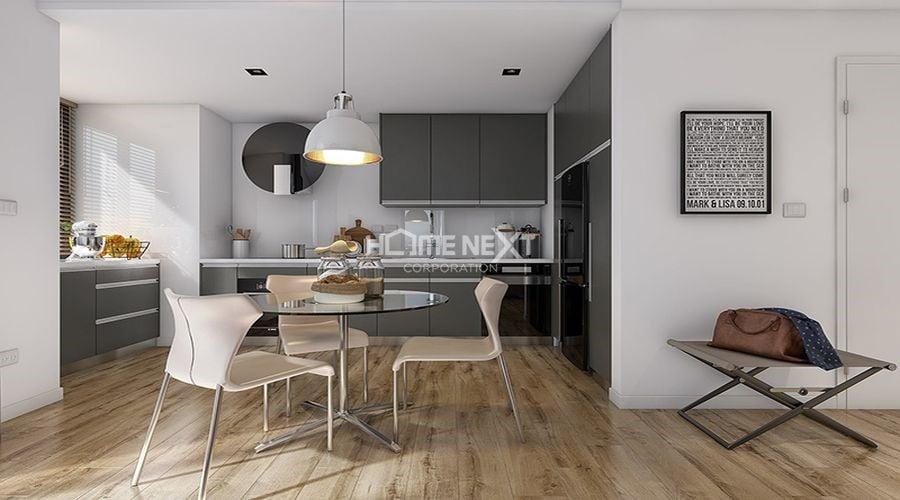 Lựa chọn hệ tủ bếp phù hợp sẽ giúp cho không gian bếp hiện đại và đẹp mắt hơn