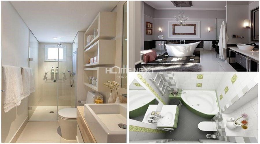 Những mẫu phòng tắm hiện đại cho căn hộ hiện đại