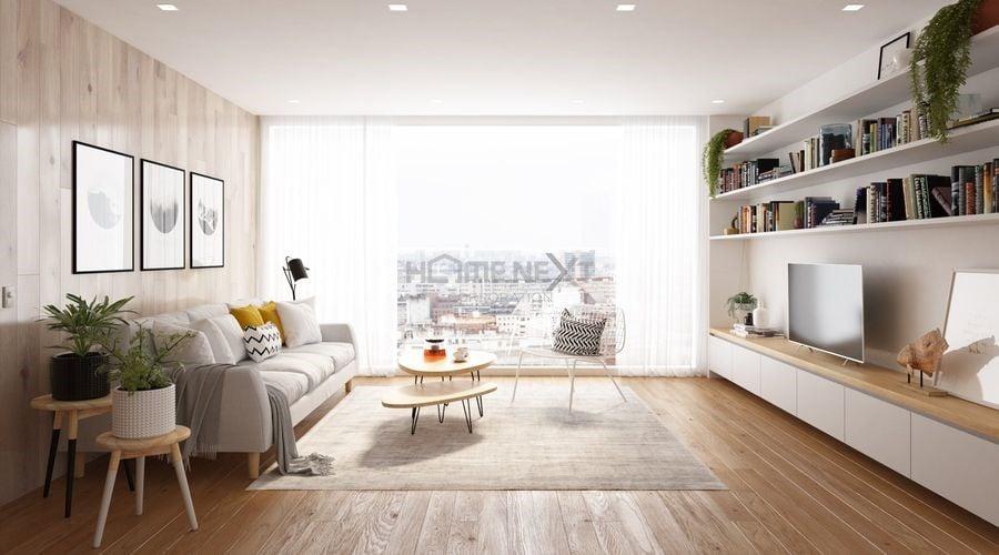 Chọn nội thất đơn giản cho phòng khách nhỏ