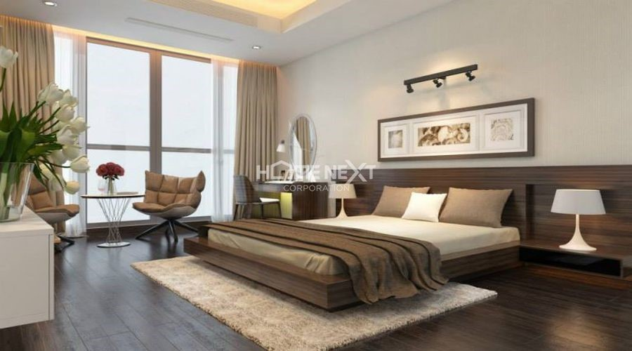 Phòng ngủ theo phong cách hiện đại sang trọng và tiện nghi